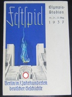 Postkarte Propaganda - Festspiel Berlin Olympia Stadion 1937 - Covers & Documents