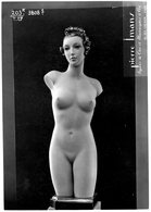 PIERRE IMANS Photo MANNEQUIN D'ART -  RUE CRUSSOL _PARIS MODE_ FASHION CIRCA 1940 (2) - Photographs