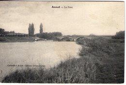 77. Annet Sur Marne. Le Pont - France