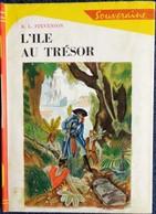 Robert-Louis Stévenson  - L'Île Au Trésor - Bibliothèque Rouge Et Or -  ( 1948 ) . - Bücher, Zeitschriften, Comics