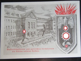 "Postkarte Propaganda - ""Waffensoldatentum"" - Briefe U. Dokumente"