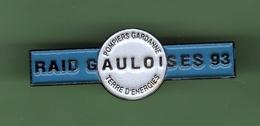 SAPEURS POMPIERS *** GARDANNE *** RAID GAULOISES 93 *** A051 - Firemen