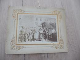 Gard Alais Alès  Rare Photo Sur Carton Famille Brabo  Par Brabo Imprimeur Photographe - Métiers