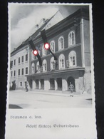 "Postkarte Propaganda - Braunau Am Inn - ""Geburtshaus Des Führers"" - Allemagne"