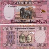 RWANDA       5000 Francs       P-41       1.12.2014       UNC - Rwanda