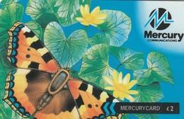 TARJETA TELEFONICA DE GRAN BRETAÑA, British Wildlife. Butterfly (Mercury One2One) 40MERC. MER434E. (003) - Reino Unido
