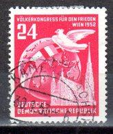 DDR 1952 Mi. 320 Völkerkongress Für Frieden Gestempelt (p0817) - DDR
