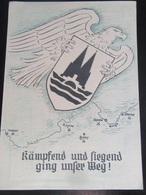 Postkarte Propaganda - Ostfront - 26. Infanterie-Division - Briefe U. Dokumente