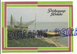 Pologne. Presqu'île De Helski. Nasse, Filets Et Barques De Pêche. Chalupy. Fot. D. Bilska - Pologne