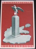 Postkarte Propaganda - Reichsparteitag Nürnberg - Briefe U. Dokumente