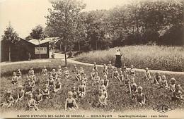 - Doubs -ref-A867- Besançon - Maisons D Enfants Des Salins De Bregille - Superbregille Garcons - Cure Solaire - Santé - - Besancon