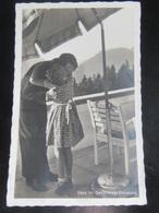 Postkarte Propaganda - Hitler - Berghof - Obersalzberg (Mini-Riß) - Briefe U. Dokumente