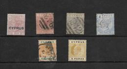 Cipre. Conjuntode 6 Sellos Diferentes - Chipre