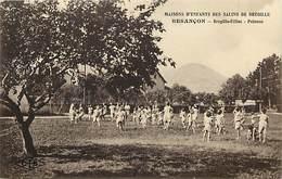- Doubs -ref-A866- Besançon - Maisons D Enfants Des Salins De Bregille - Bregille Filles - Pelouse - Jeux - Santé - - Besancon