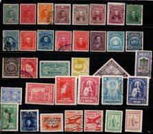 N686- BOLIVIA- 1899/1957. MIXED LOT STAMPS. CV: 39.00 ++ EUROS - Bolivie