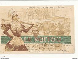 LE POITOU REGIONS ILLUSTRATION  CPA BON ETAT - Poitou-Charentes