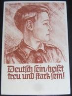 Postkarte Propaganda - HJ - Hitlerjugend - Trexler - Briefe U. Dokumente