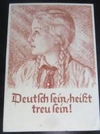 Postkarte Propaganda - BDM - Hitlerjugend - Trexler - Gelaufen! - Briefe U. Dokumente