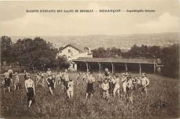- Doubs -ref-A864- Besançon - Maisons D Enfants Des Salins De Bregille -superbregille Garçons - Jeux Plein Air - Santé - Besancon