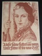 Postkarte Propaganda - BDM - Hitlerjugend - Trexler - R! - Briefe U. Dokumente