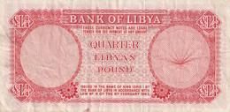 1/4 POUND 1963 - Libië