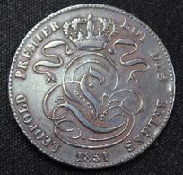 BELGIE LEOPOLD I  5 CENT  1851   SUPER KWALITEIT  2 SCANS - 1831-1865: Léopold I
