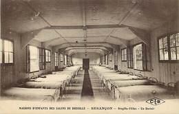 - Doubs -ref-A859- Besançon - Maisons D Enfants Des Salins De Bregille - Begrille Filles - Un Dortoir - Carte Bon Etat - - Besancon
