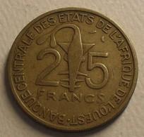 1971 - Afrique De L'Ouest - West African States - 25 FRANCS, BCEAO, KM 5 - Other - Africa