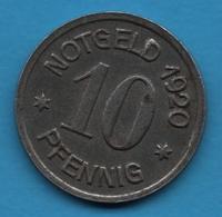 Schlesien 10 Pfennig 1920 Oels - Eisen 1920 NOTGELD - [ 3] 1918-1933 : Weimar Republic
