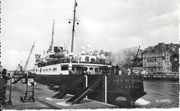 CPA-1950-62-BOULOGNE--PORT- Le Ferry MAID (Pucelle) Of ORLEANS A QUAI-Edit Cigogne-TBE - Ferries