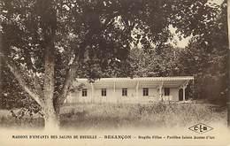 - Doubs -ref-A858- Besançon - Maisons D Enfants Des Salins De Bregille - Bregille Filles -pavillon Ste Jeanne D Arc - Besancon