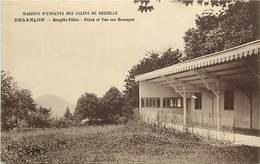 - Doubs -ref-A857- Besançon - Maisons D Enfants Des Salins De Bregille - Bregille Filles - Préau Et Vue Sur Besançon - - Besancon