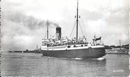 CPA-1950-62-BOULOGNE--PORT- Le Ferry CANTERBURY AuDépart-TBE - Ferries