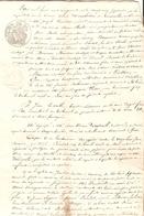 Vieux Papier Du Béarn, 1850, Requête De Mme Dombidau De Crouzeilles, Boila D'Oloron, Lacazanove Contre Le Dr Fondeville - Historische Documenten