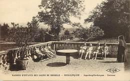 - Doubs -ref-A855- Besançon - Maisons D Enfants Des Salins De Bregille - Bregille Filles - Terrasse - Santé - - Besancon
