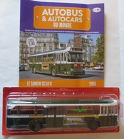 AUTOCAR BUS AUTOBUS SAVIEM SC10 U RATP Ligne 72 De 1965 Publicité RENAULT 5 R5 & CHICOREE LEROUX - Ixo