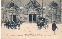 Cpa 75 Paris 1 Eglise Notre Dame Portail De La Vierge - Notre Dame De Paris