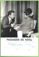 Lisboa - REAL PHOTO - Filme Passagem De Nível (Autografado) - Actor - Actriz - Cinema - Teatro - Música - Actors