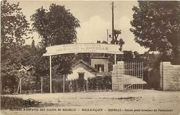 - Doubs -ref-A854- Besançon - Maisons D Enfants Des Salins De Bregille - Bregille - Entrée Point Terminus Funiculaire - Besancon