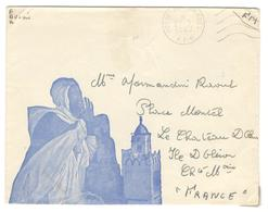 16435 - Enveloppe  Illustrée - Marcophilie (Lettres)