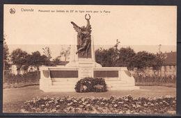 33 Oostende  Monument Aux Soldat Du 23e Deligne Morts Pour La Patrie - Oostende