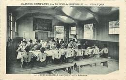 - Doubs -ref-A852- Besançon - Maisons D Enfants Des Salins De Bregille - Superbregille Garçons - Refectoire - Santé - - Besancon