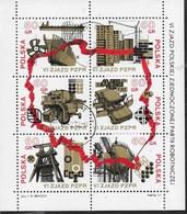 POLONIA - 6° CONGRESSO DEL PARTITO DEI LAVORATORI 1972 -  BLOCCO USATO (YVERT BF 56 - MICHEL BL 50) - Blocchi E Foglietti