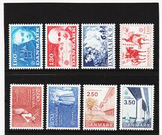 LKA555 EUROPA CEPT 1980/83 DÄNEMARK Michl 699/00+730/31+749/50+781/82 ** Postfrisch - Europa-CEPT