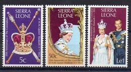 SIERRA LEONE   Timbres Neufs ** De 1978  ( Ref 6363 ) Elisabeth II - Sierra Leone (1961-...)