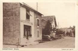 - Doubs -ref-A849- Longevelle - Café Epicerie Tabac - Cafés - Epiceries - Tabacs - Magasin - Magasins - Carte Bon Etat - - France