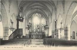 - Doubs -ref-A848- Le Bizot - Interieur De L Eglise -  Carte Bon Etat - - France