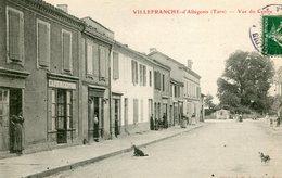 VILLEFRANCHE D' ALBIGEOIS - VUE Du CENTRE - - Villefranche D'Albigeois