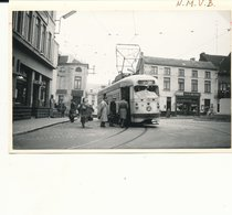 TRAM  VICINAL  Bruxelles Charleroi  Ligne 64  Photo 14 X 9 Cm - Vervoer (openbaar)