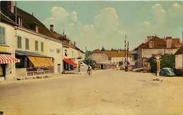 - Doubs -ref-A847- L Isle Sur Le Doubs -rue Du Magny - Glaces - Hotel Bailly - Hotels - Garage Citroen - Garages - - Isle Sur Le Doubs
